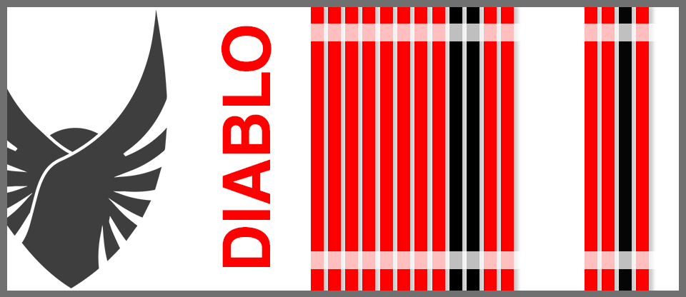 Diablo Red Avolv Cable Kit Sleeved PSU Extensions