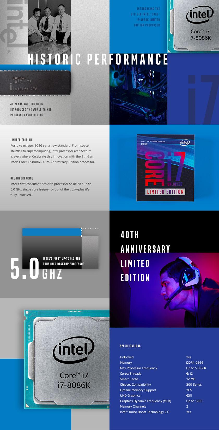 Intel Limited Edition 8086K