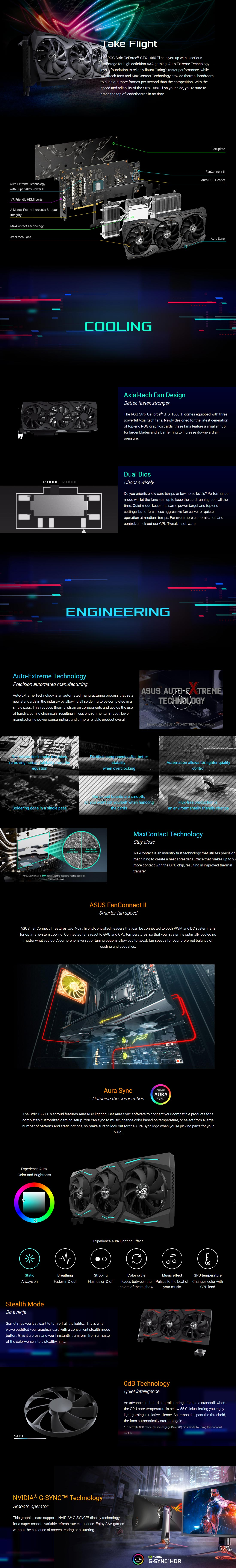 Buy Asus GTX 1660TI 6G STRIX ROG OC Online, Australia - Evatech
