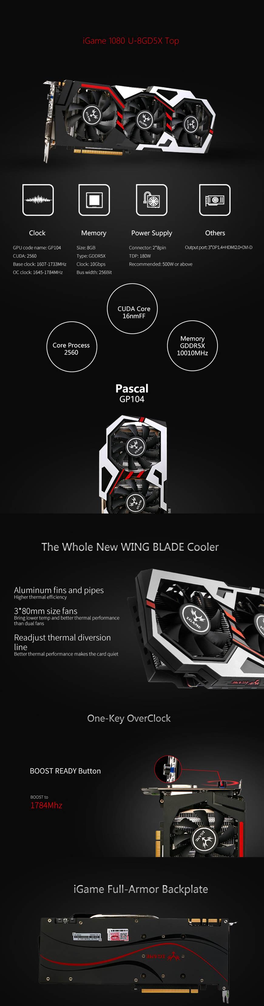 Colorful GTX 1080 U-TOP V2