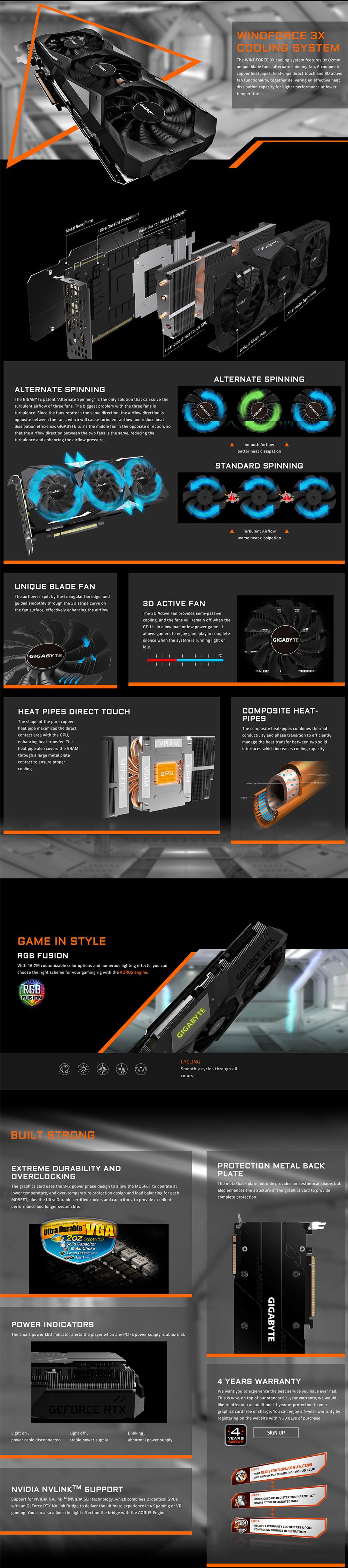 Gigabyte RTX2080 Gaming OC