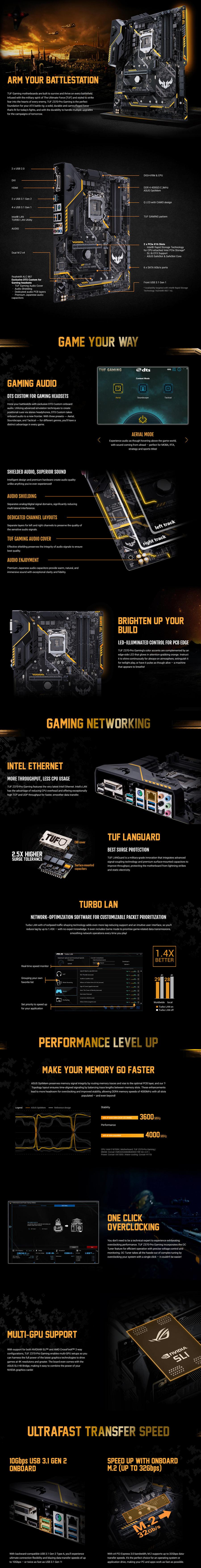 Asus TUF PRO Z370 Gaming