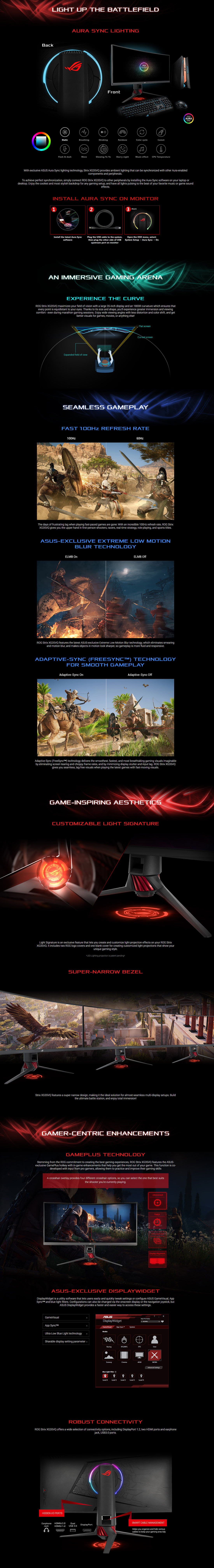 Asus Strix GamePLUS TUV XG35VQ