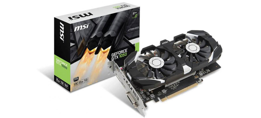 GTX 1050 TI MSI Gaming X GPU