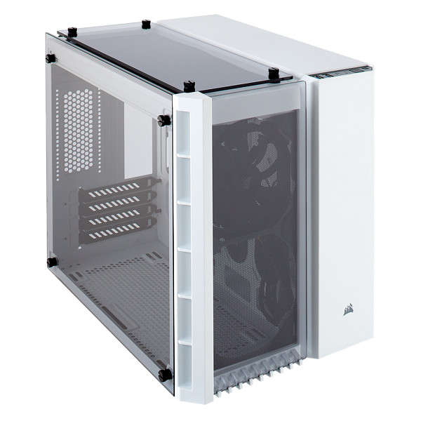 Corsair Crystal 280X Tempered Glass mATX White