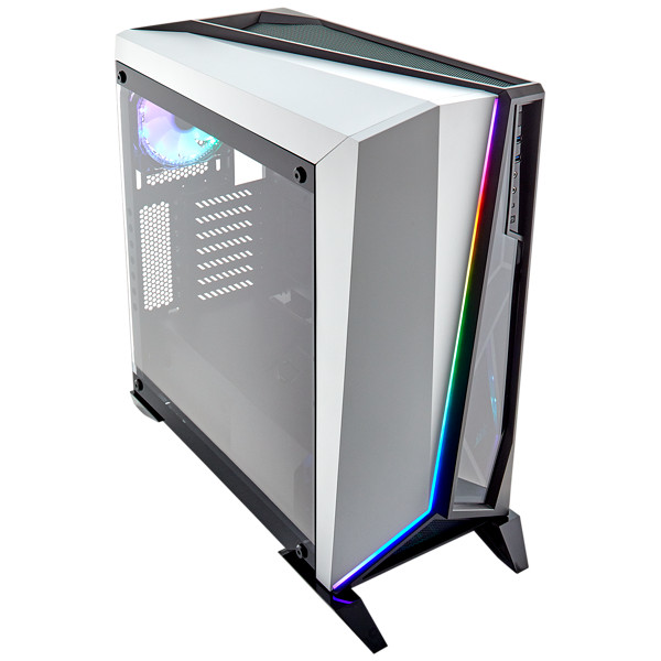 Corsair Carbide Spec Omega Tempered Glass RGB White