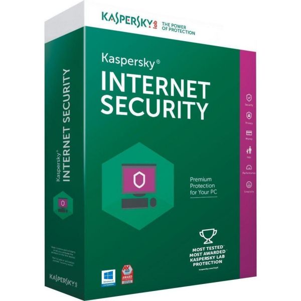 Kaspersky Internet Security 1 Year Licence