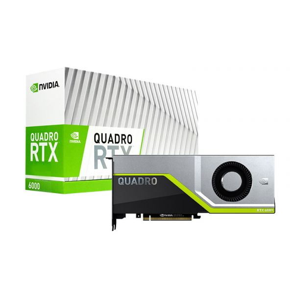Quadro RTX6000 24GB 4608 Cuda + 576 Tensor Core Workstation GPU