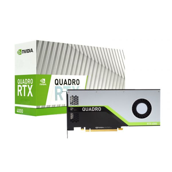 Quadro RTX4000 8GB 2304 Cuda + 288 Tensor Core Workstation GPU