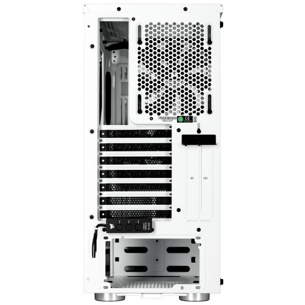Corsair Carbide Spec-06 White RGB Tempered Glass