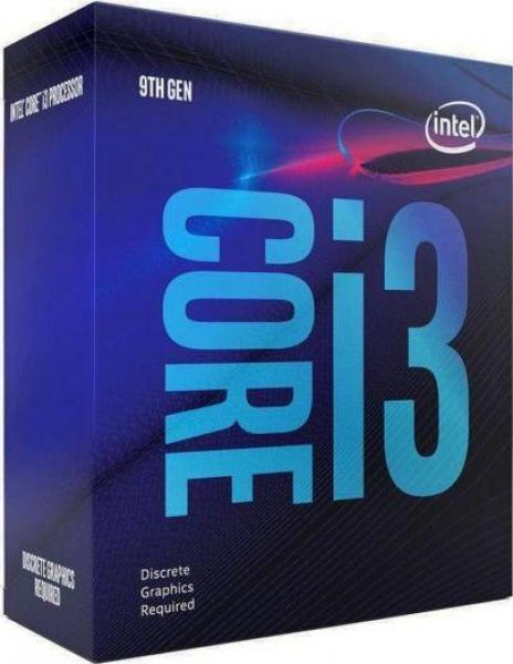Intel i3 9100F 4-Core (Base-3.6GHz Boost-4.2GHz)