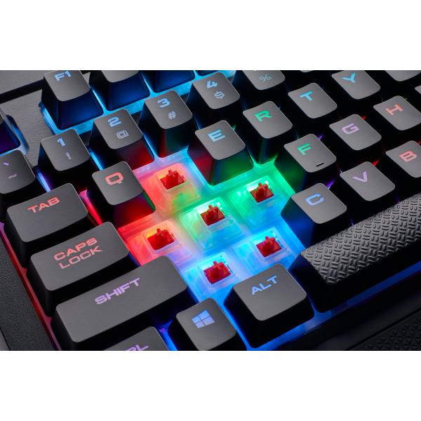 Corsair K68 Mechanical RGB Cherry Red MX