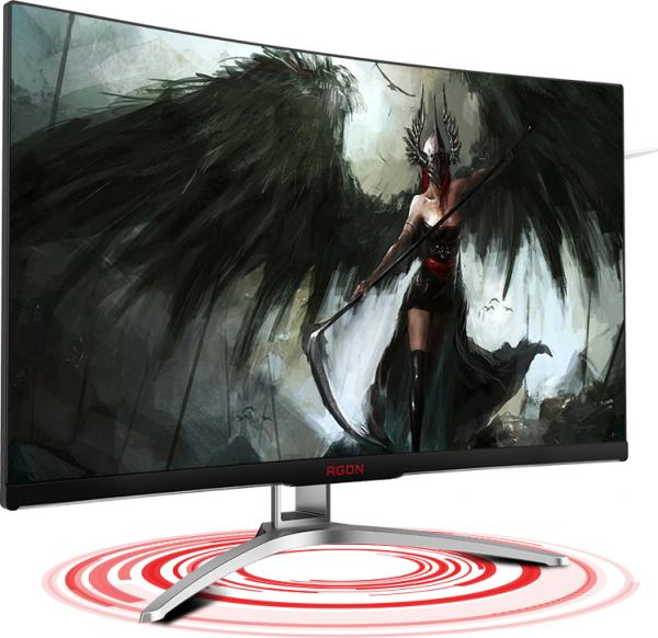 "AOC AGON AG322FCX1 FHD 144Hz FreeSync Curved 31.5"" Monitor"