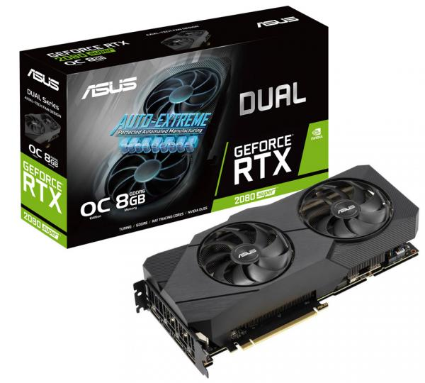 ASUS GeForce RTX 2080 Super Dual OC EVO 8GB