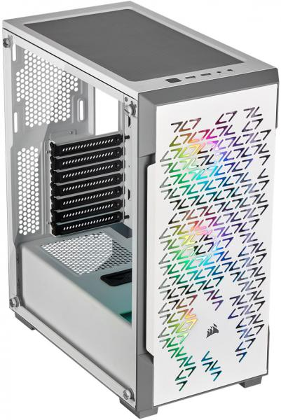 Corsair iCUE 220T RGB Airflow TG Mid Tower Case White