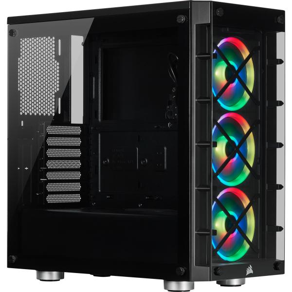 Corsair iCUE 465X RGB Tempered Glass Case Black