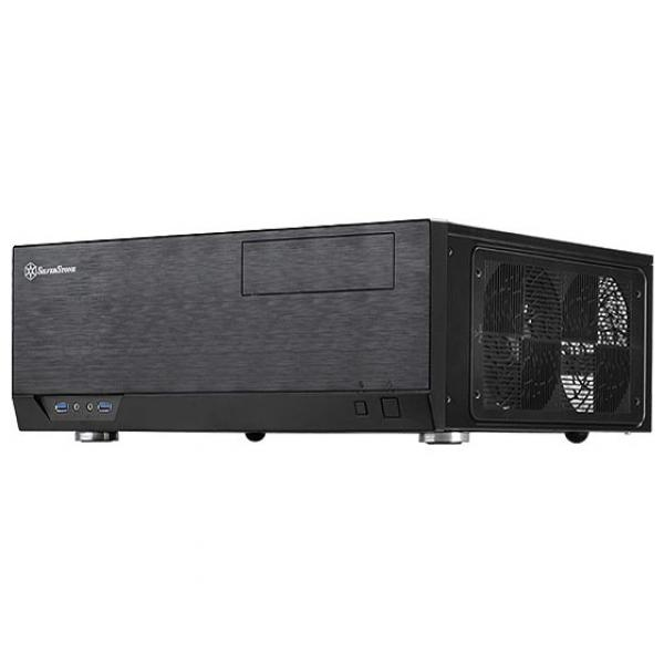 SilverStone Black Grandia GD09 HTPC Chassis [Special Order]