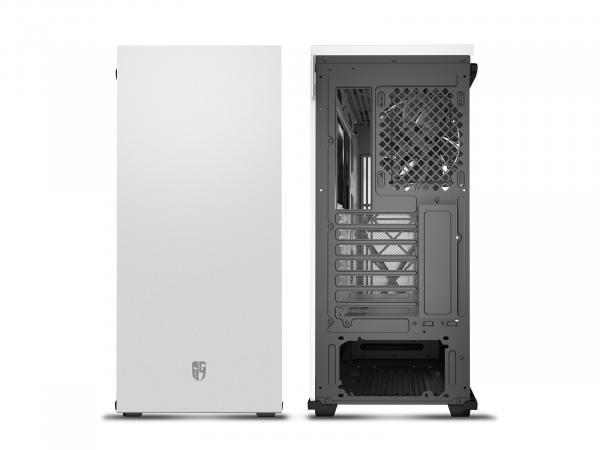 GamerStorm Macube 310P Tempered Glass Case White