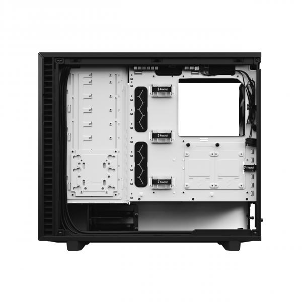 Fractal Design Define 7 Tempered Glass Black White