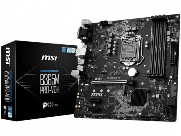 MSI B365M Pro-VDH Coffee Lake Motherboard