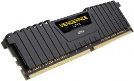 Corsair 16GB (1x16gb) 3000MHz DDR4 Vengeance LPX Black