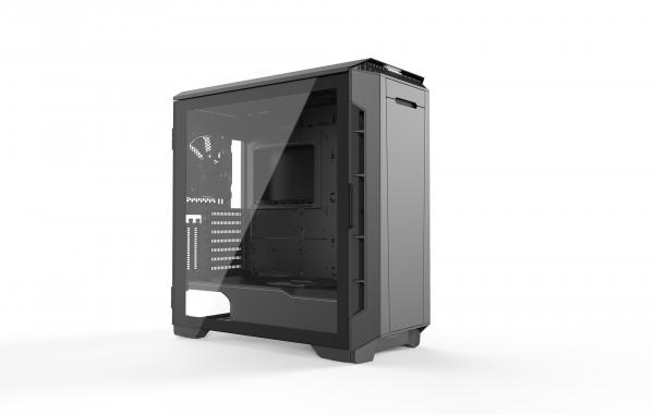 Phanteks Eclipse P600S Tempered Glass Black With Vertical GPU Mount