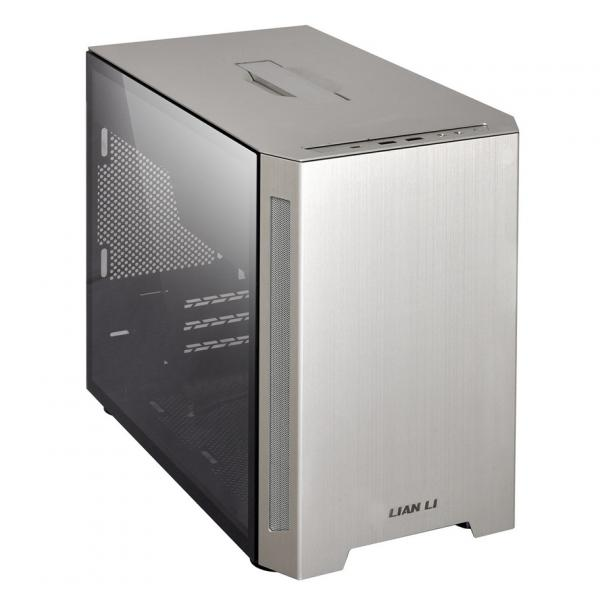 Lian Li PC-TU150 Silver Tempered Glass Mini ITX Case