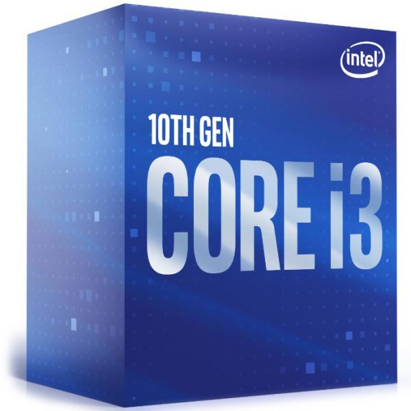 Intel Core i3 10100 4 Core 8 Thread (Base-3.6GHz Boost-4.3GHz)