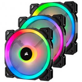 3 x Corsair LL120 RGB 120mm Black