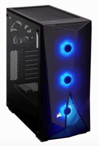 Corsair Carbide Spec-Delta Black RGB Tempered Glass Mid-Tower