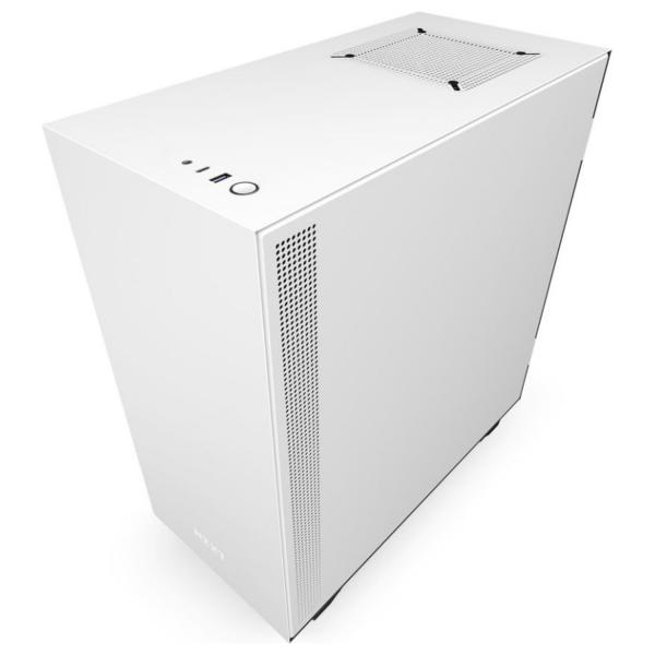 NZXT H510 White/Black Mid Tower [$40 OFF]