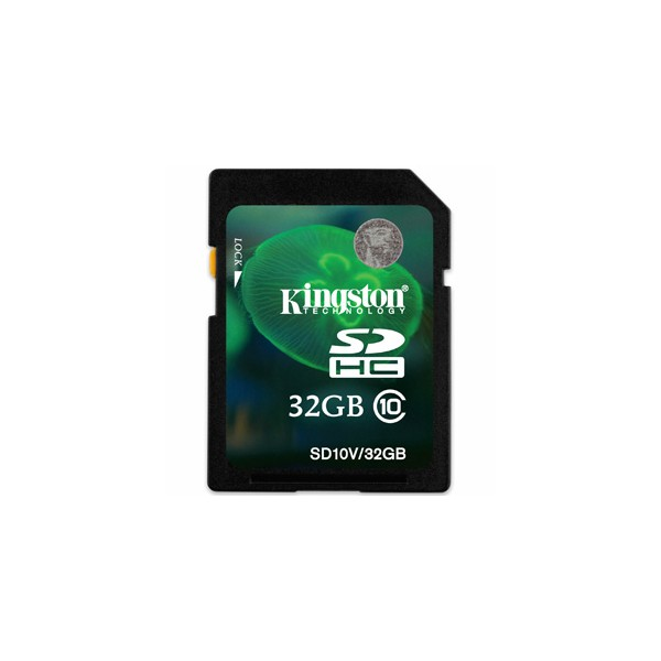 Kingston 32GB SDHC Class 10 Memory Card