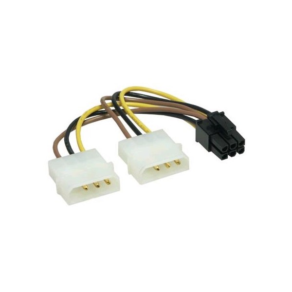 Molex to 6-Pin Adapter Cable