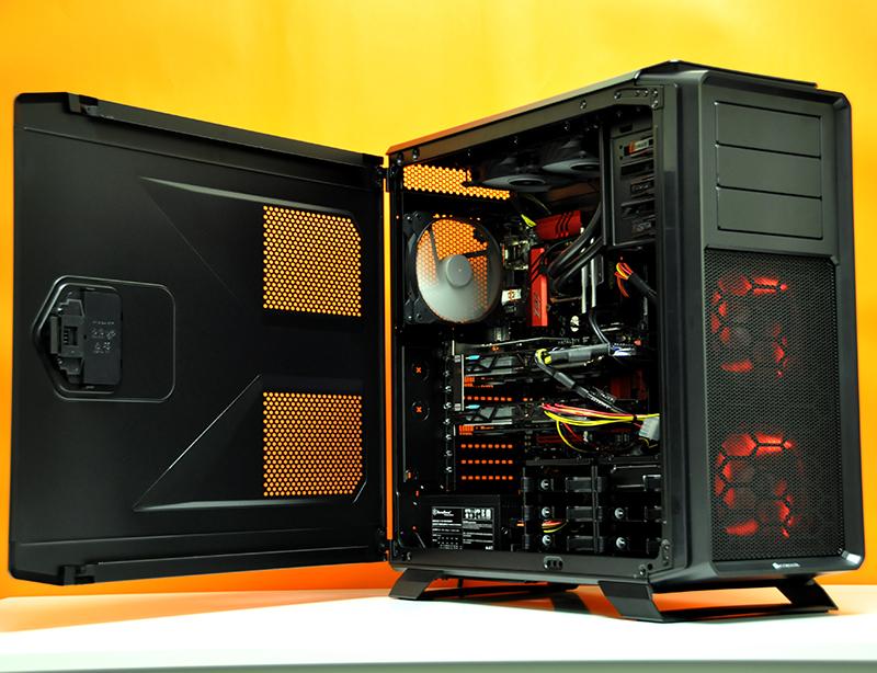 Build Log Intel Ultimate Custom Gaming Pc In Corsair