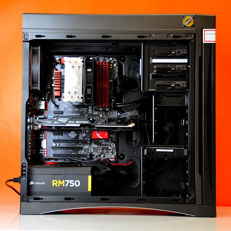 Build Log (Intel Ultimate Custom Gaming PC in BitFenix ...  Build Log (Inte...