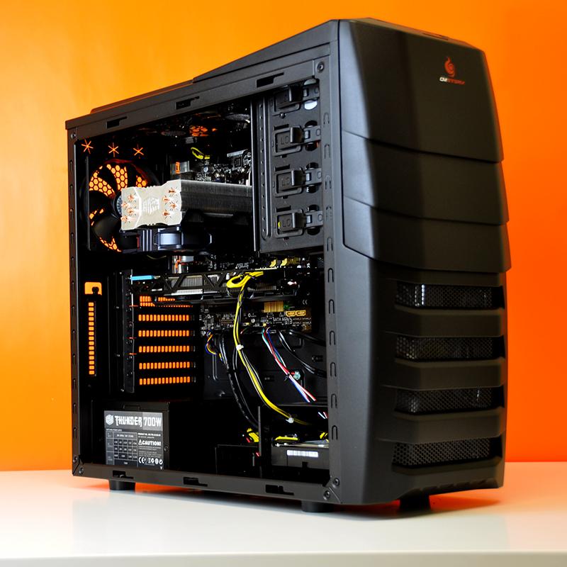 Kishi Amd Ati Custom Gaming Pc In Cooler Master Storm