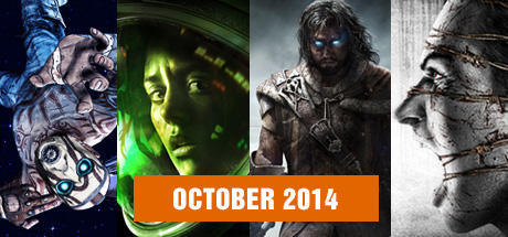 October 2014 Game Releases