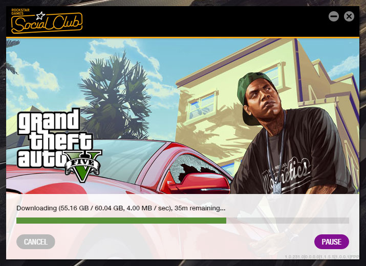 GTA V PC Day 1 Patch