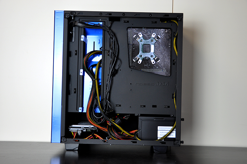 sirin custom gaming pc in nzxt source 340 evatech news. Black Bedroom Furniture Sets. Home Design Ideas