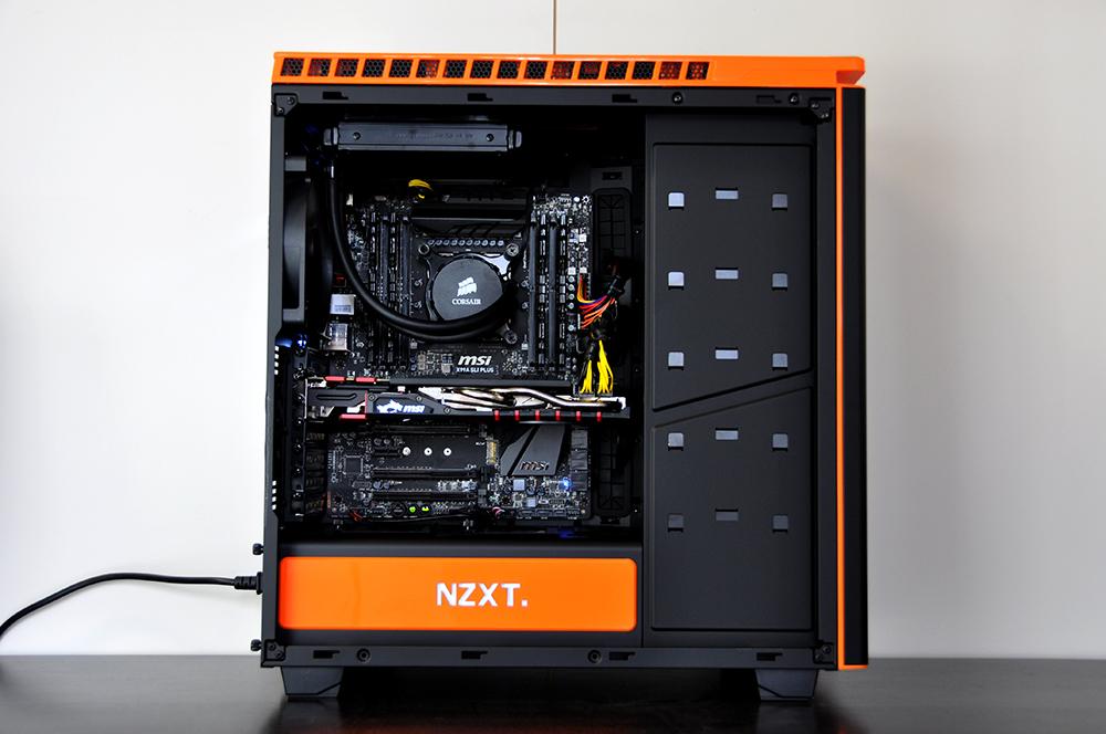 Ragnarok Custom Gaming PC in NZXT H440 - Evatech News