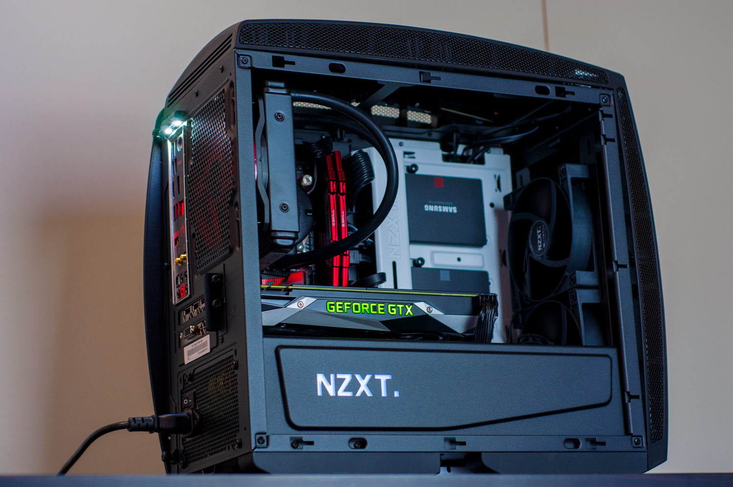 ryu custom gaming pc in nzxt manta white evatech news gaming pc build guide 2016 Gaming PC Build 2014