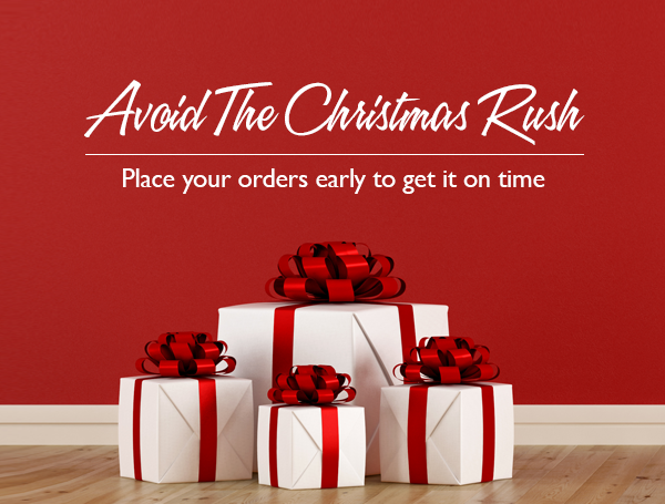Pre-Christmas Delivery and Pickup Cut-off Dates