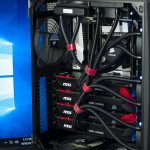 Q: Who can squeeze 4 Liquid Cooled 1080s in a single PC? A: Evatech