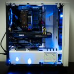 Valkyrie Gaming PC in NZXT Source 340 White